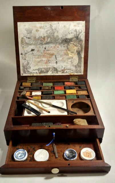 Thomas Reeves Amp Son Watercolour Watercolor Paint Box Made