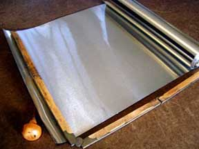 Thin tin sheets