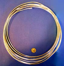 Craft Wire Copper, Aluminum, Nickel & Brass All sizes & FAST SHIPPING