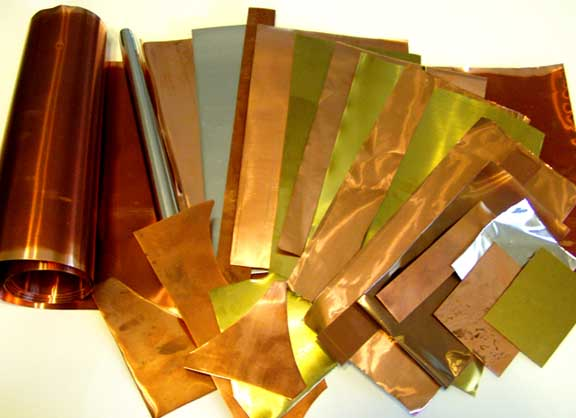 reclaimed recycled craft metal sheet wire copper