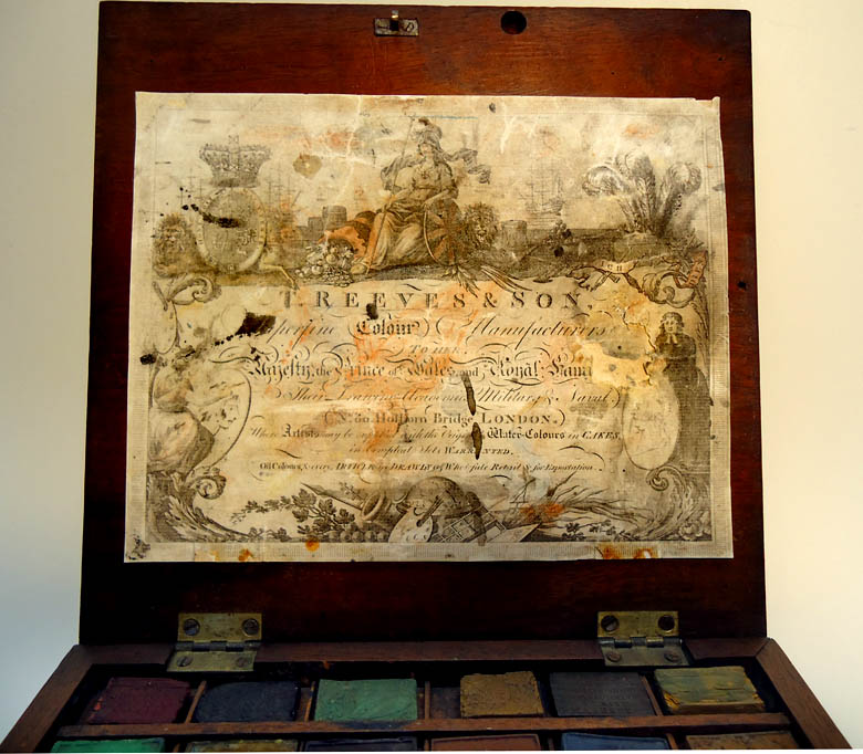 Thomas Reeves Amp Son Watercolour Watercolor Paint Box Made